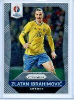 Panini Prizm Euro 2016 ZLATAN IBRAHIMOVIC Silver Prizm 241 Investment Card HOF
