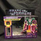 Transformers Headmaster Skullcruncher Retro Walmart Exclusive