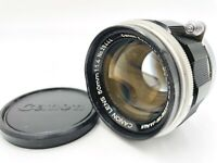 【 EXC+++】 Canon 50mm f/1.4 Lens L39 Leica Screw Mount LTM For 7 7S P from JAPAN