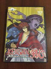 KENSHIN EL GUERRERO SAMURAI VOL 30 - DVD CAPS 89 A 91 - SELECTA VISION - 80 MIN