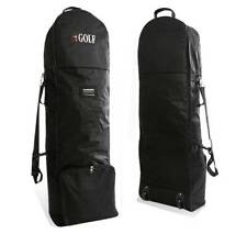 Flight Air Travel Golf Bag Protective Carrying Cases Cover Carrier w/ Wheels