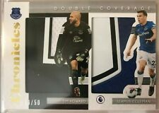 2019-20 Chronicles Seamus Coleman / Tim Howard Everton Double Coverage Patch /50