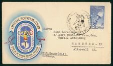 Mayfairstamps Australia 1956 Olympics Boxing Richmond Park to Germany Cover wwp8