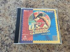 Broderbund Where in the USA is Carmen SanDiego?  (PC & Mac, 1996)