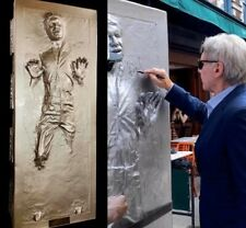 Harrison Ford Signed 1:1 Scale Han Solo Carbonite Statue Star Wars Video Proof!