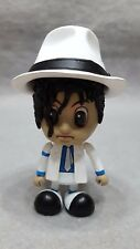 NO BOX Hot Toys Cosbaby Michael Jackson 3 inch Action Figure Black White W/ Hat