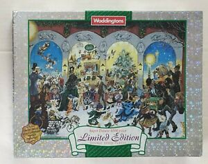 """Waddingtons Puzzle """"The Twelves Days of Christmas"""" 1000 pieces ** Complete **"""