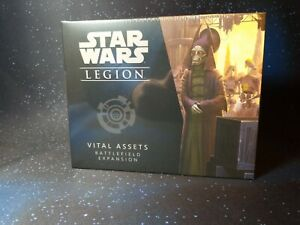 Vital Assets Battlefield Expansion Star Wars: Legion FFG NIB