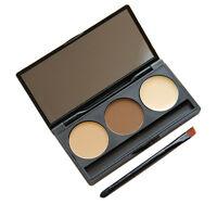 Neu 3 Farben Concealer Abdeckcreme Kompaktpuder-Camouflage Palette Cover Make-up