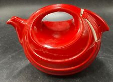 Halls Rhythm Teapot Chinese Red  perfect condition