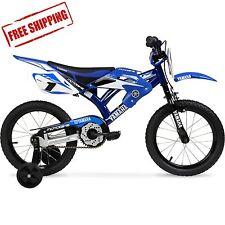 "16"" Moto Yamaha Bike, Blue"
