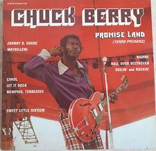 """2 x 33T Chuck BERRY Vinyles LP 12"""" PROMISE LAND - LET IT ROCK - FESTIVAL 219"""