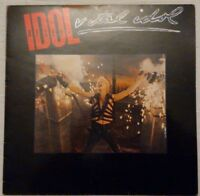 Billy Idol - Vital Idol - Chrysalis - CUX 1502 - UK 1985 Vinyl LP Album EX/VG+