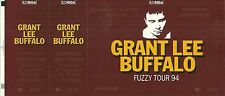 RARE / TICKET DE CONCERT - GRANT LEE BUFFALO LIVE A MONTPELLIER - 17 AVRIL 1994