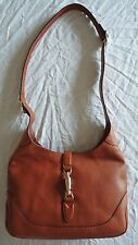 ~AUTHENTIC $2,250 GUCCI LIGHT BROWN LEATHER CROSS BODY HOBO BAG (SO SOLD OUT!) ~