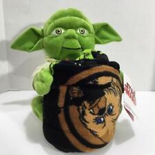 Star Wars Yoda Plush Hugger & Throw Blanket Retail $50 Nwt