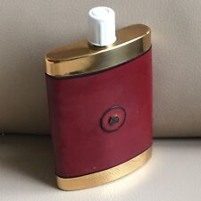 1970s Hip Flask Vintage Retro Mid Century French Plastic Red Vinyl A Alan Andrew