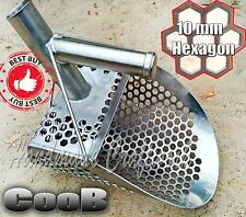 *Pelican Pro* CooB Beach Sand Scoop Metal Detector Hunting Tool Stainless Steel