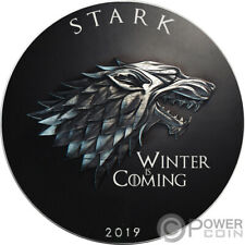 STARK Game of Thrones GOT Walking Liberty 1 Oz Silver Coin 1$ US Mint 2019