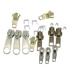 22pcs Universal Instant Fix Zipper Repair Kit Zip Sliders Stops Replacement