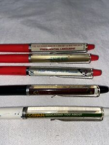 Vintage floaty Pen collection a lot 5 Total
