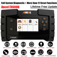OBD2 Scanner Car Diagnostic Tool Full Systems ABS SRS DPF Oil Reset ECU Coding