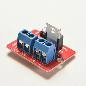 MOSFET Button IRF520 MOSFET Driver Module for Arduino ARM Raspberry pi Newfa