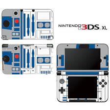 Vinyl Skin Decal Cover for Nintendo 3DS XL LL - Star Wars R2-D2 R2D2