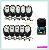 Transmitter&Receiver Access 315MHz Wireless Remote Control Switch System 12V1CH