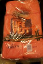 Kent U.S. Coast Guard Approved Buoyant Life Vest Type II Adults