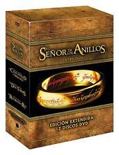TRILOGIA El Señor De Los Anillos Extendida DVD  ESPAÑOL NUEVO CASTELLANO