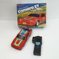 Vintage 1980s Radio Shack Z28 Red Chevy Camaro 27 R/C Car Tested Works