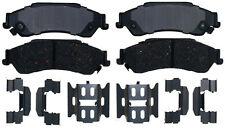 Disc Brake Pad Set-Ceramic Disc Brake Pad Rear ACDelco Pro Brakes 17D729CH