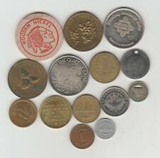 14 Miscellaneous Tokens/Medallions