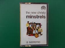 THE NEW CHRISTY MINSTRELS A SANREMO MUSICASSETTA K7 ORIGINALE 1970 COME NUOVA