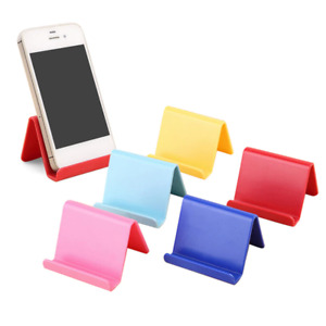 Universal Plastic Phone Holder Mini Portable Business Card & Mobile Phone Stand