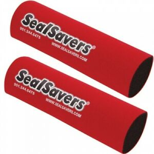 Seal Savers Fork Covers 44-50mm Fork Tube, Short Red SS134R for Motorcycle