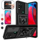 For Motorola Moto G Stylus 5G 2021 Case Shockproof Camera Slide Protection Cover