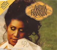 ARETHA FRANKLIN - Willing To Forgive (UK 3 Tk CD Single)