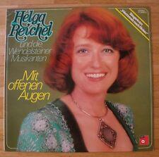 HELGA REICHEL Mit offenen Augen LP/GER