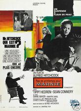 Marnie Alfred Hitchcock vintage movie poster print