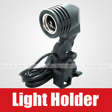 E27 E26 Socket CFL Mount Reflective Umbrella Lamp Light Holder for Stand Studio