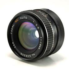 FOCAL MC Wide Angle 28mm F2.8 Lens M42/Pentax Screw Mount