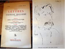 SYMBOLISME/MALLARME/REVUE LES LETTRES/1948/ILL PAR PICASSO/SYMBOLISME/ROMANTISME