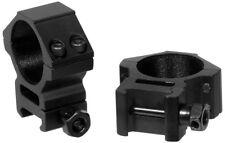 UTG 30mm SCOPE RINGS MED PROFILE PICATINNY/WEAVER **NEW** RGWM-30M4