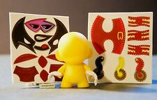 Marvel Micro Munny Vinyl DIY Munnyworld Series 2 Kidrobot Wolverine