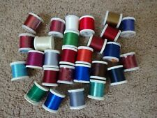 27 spools Rod Building Wrapping 100yd Prowrap Gudebrod Misc threads