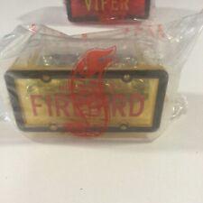 HOT WHEELS PARK N PLATES PONTIAC FIREBIRD NEW MIB 1996 AVON PACKAGE