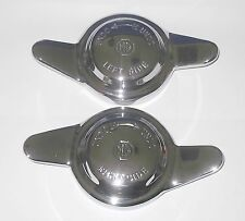 Pair MG KNOCK ON WHEEL SPINNERS LH & RH 8TPI for MGB GT MGBGT Roadster 1965 - on