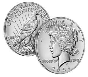 Peace 2021 Silver Dollar 21XH - Presale